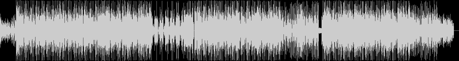 ファンク系ビートの未再生の波形