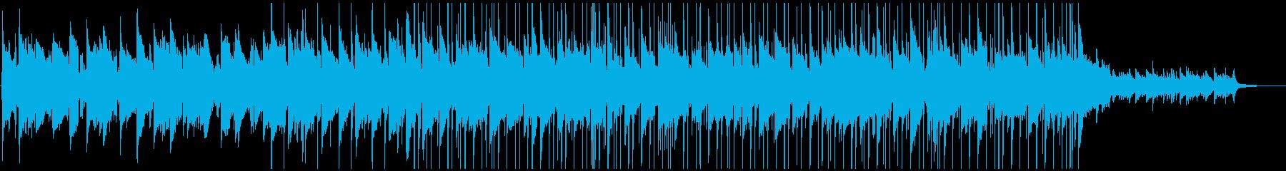 秋らしいロックバラードの再生済みの波形