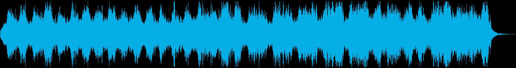輪廻転生 アンビエント 神秘的 情景音の再生済みの波形