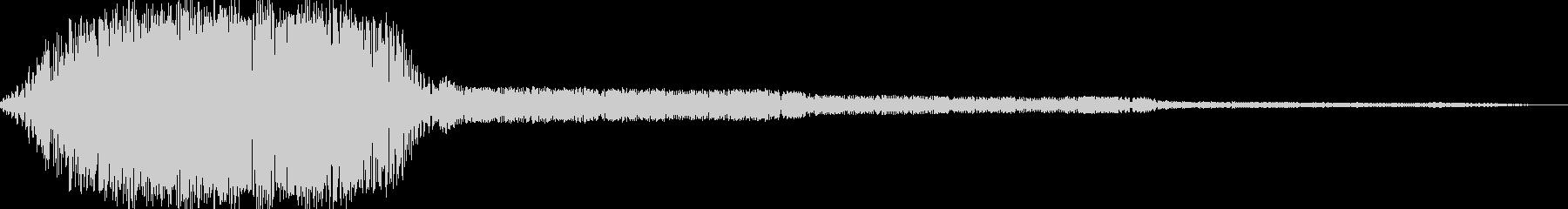 AMGアナログFX 6の未再生の波形