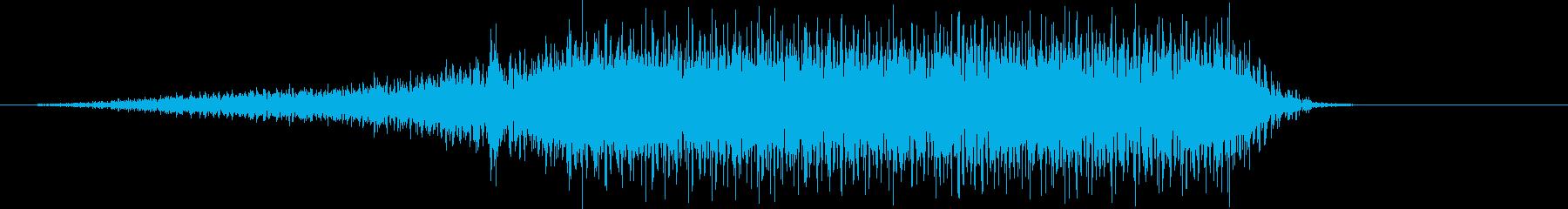 トラックのピックアップイン/ストッ...の再生済みの波形