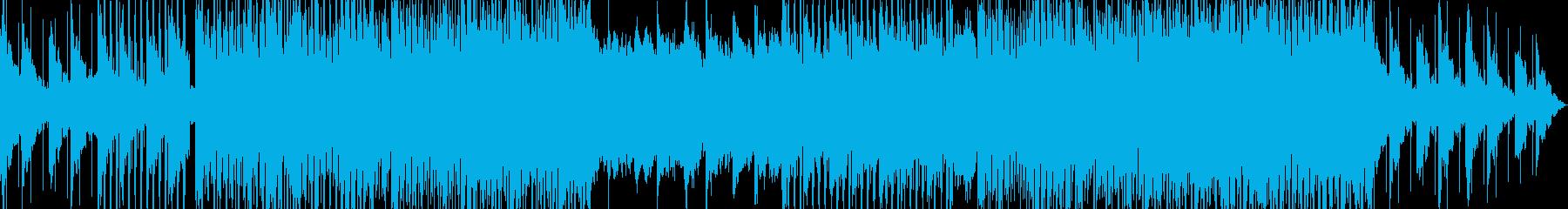 ポップダンスポジティブプロモーションの再生済みの波形