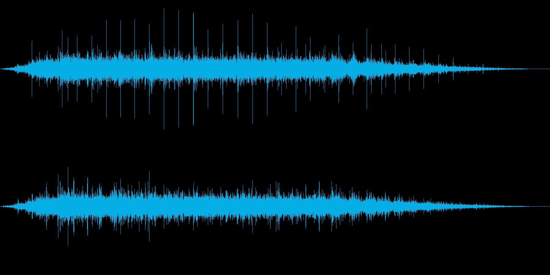 拍手の効果音(中規模/劇場/舞台)27の再生済みの波形