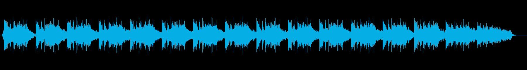 テンポの良い曲です。の再生済みの波形