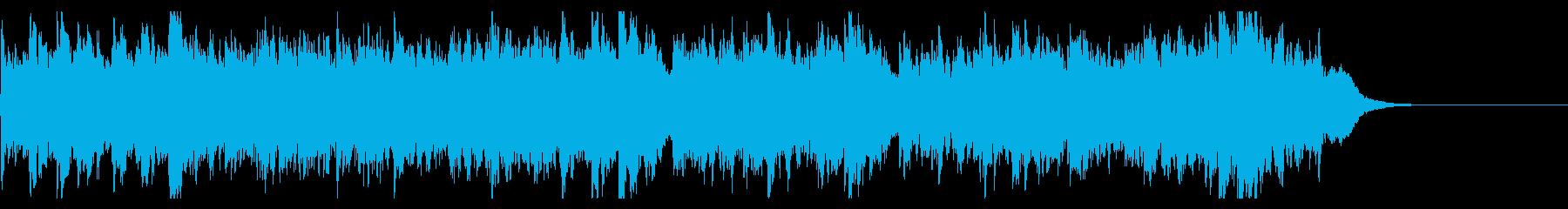 クリスマスのスタンダードナンバーの再生済みの波形