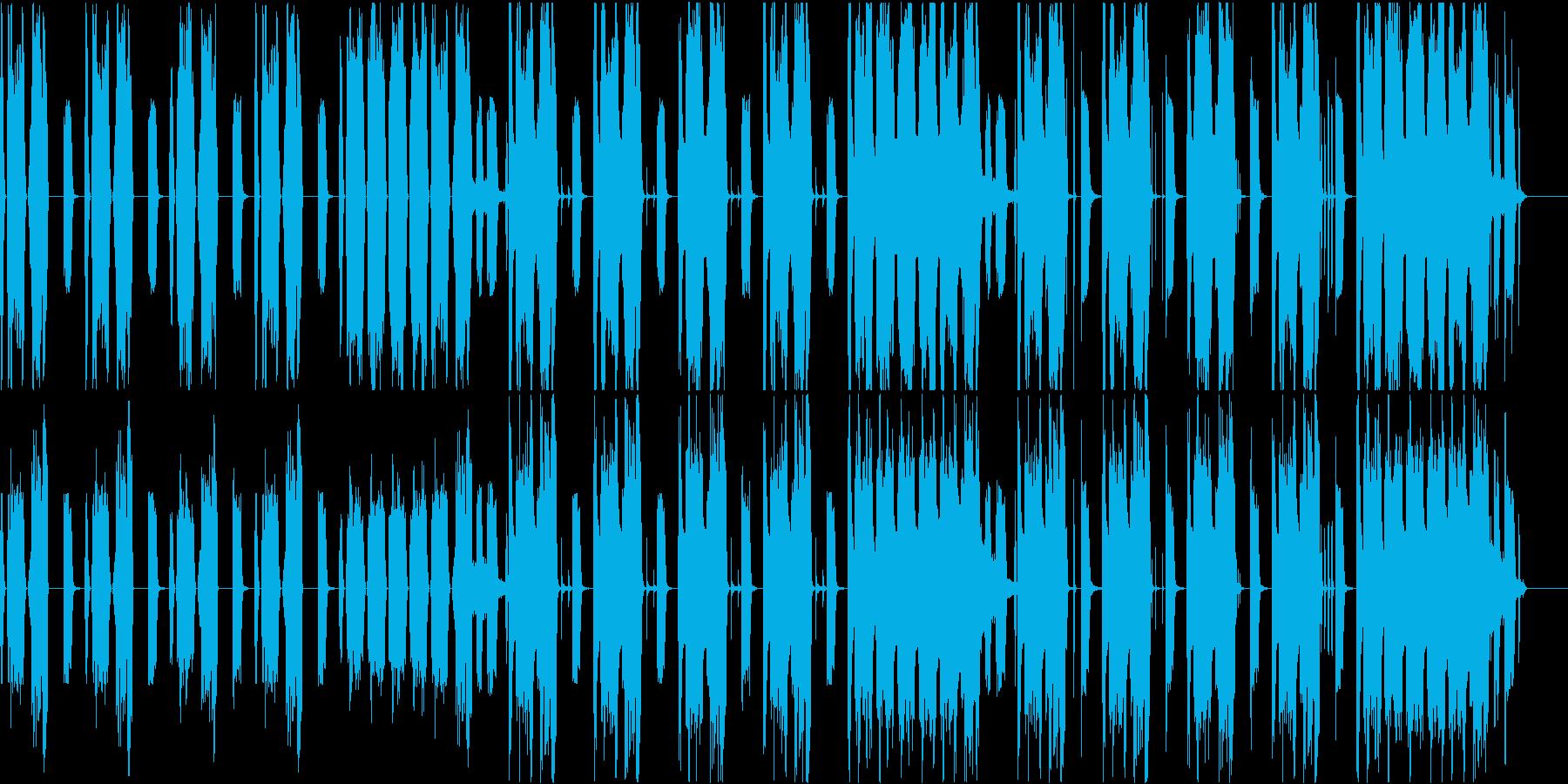 ポンコツで間抜けなコメディ向きBGMの再生済みの波形
