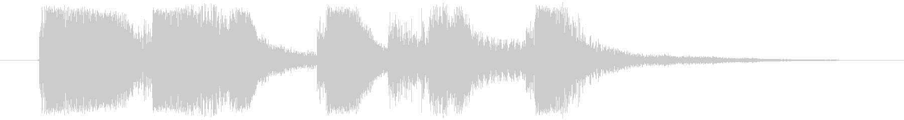 フィルイン_ジャジーなアイキャッチの未再生の波形