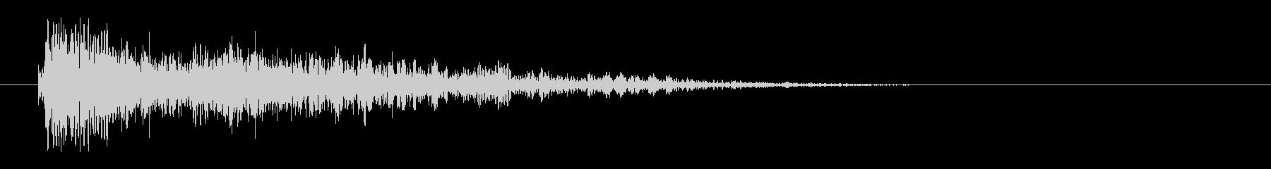 レーザー音-25-3の未再生の波形