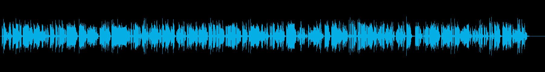古めかしい、ほのぼの、オールドジャズの再生済みの波形