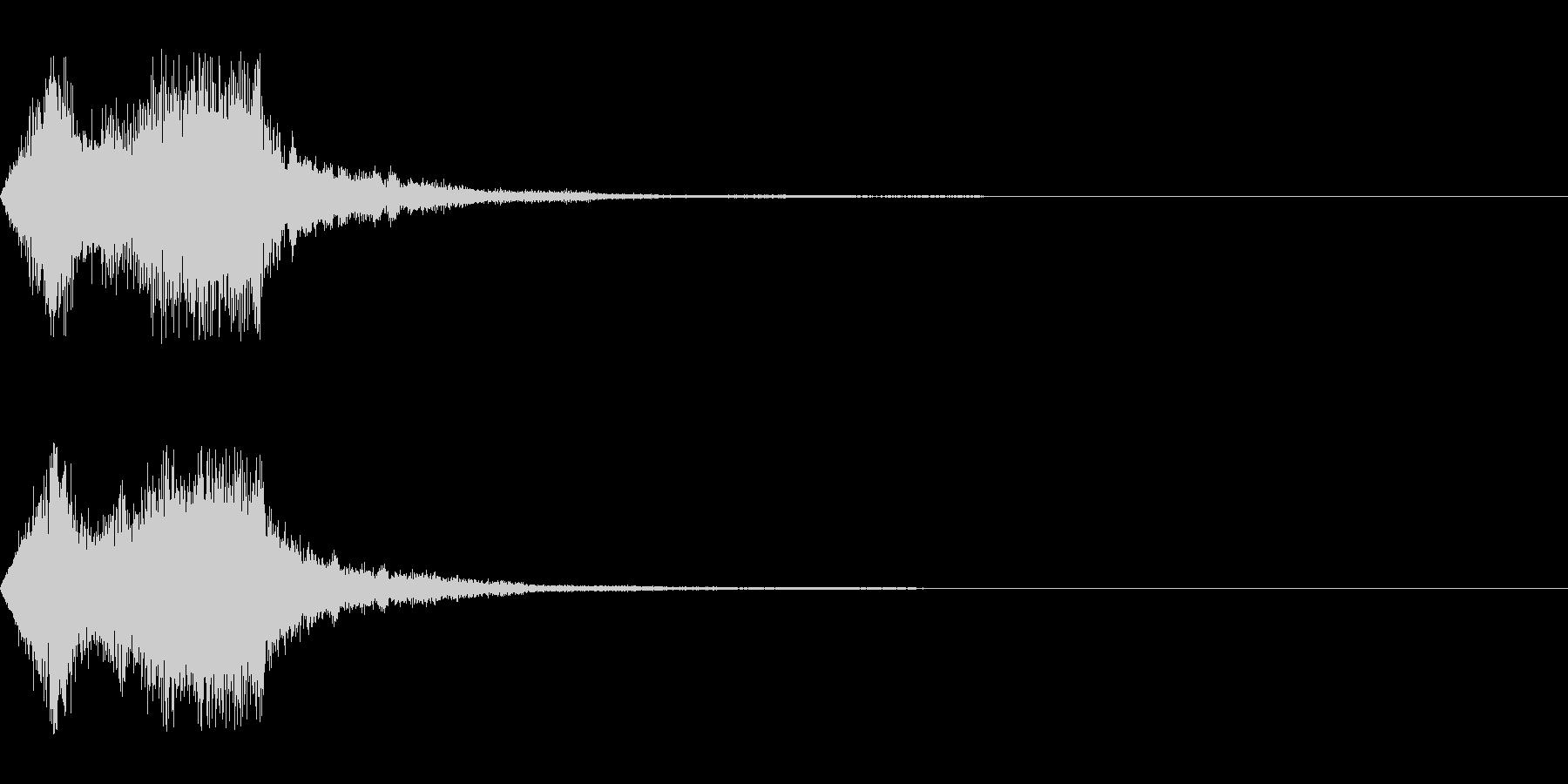 空間系の魔法音_その2の未再生の波形