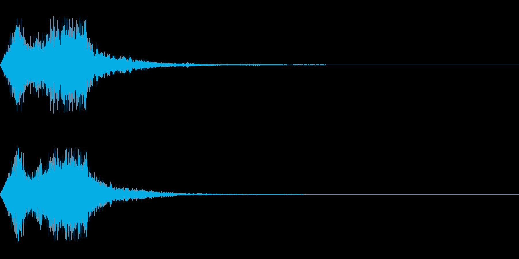 空間系の魔法音_その2の再生済みの波形