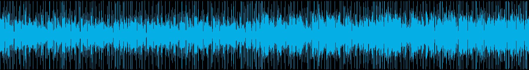 動画やラジオに。ノリノリ!ベーススラップの再生済みの波形