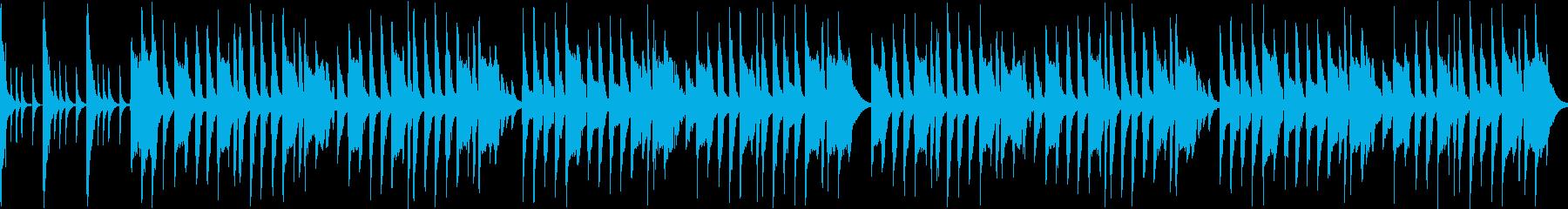 リコーダーが可愛い「一月一日」ループ版の再生済みの波形