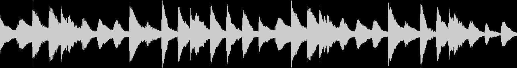ほのぼのした日常02 マリンバ(ループ)の未再生の波形