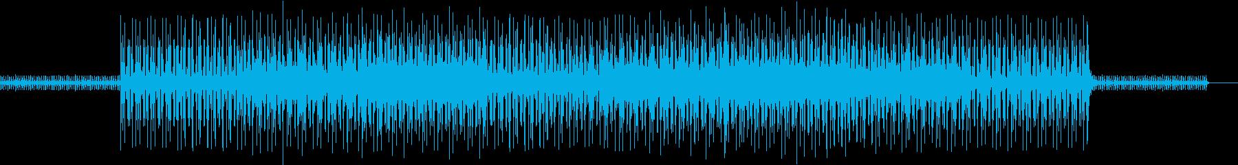マリンバとシンセのタイトなビートの再生済みの波形