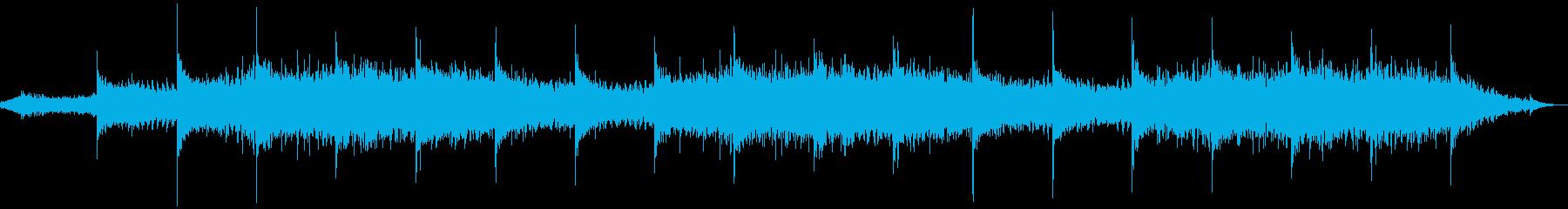 原始時代や火山のイメージの再生済みの波形