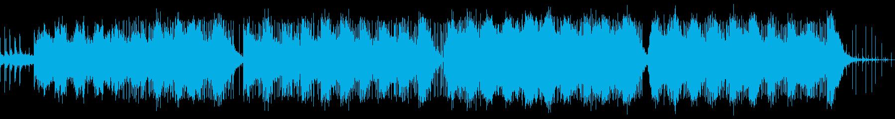 動画 サスペンス 説明的 お洒落 ...の再生済みの波形