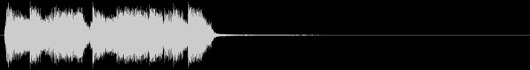 クラビネットがかっこいいファンキーなアイの未再生の波形