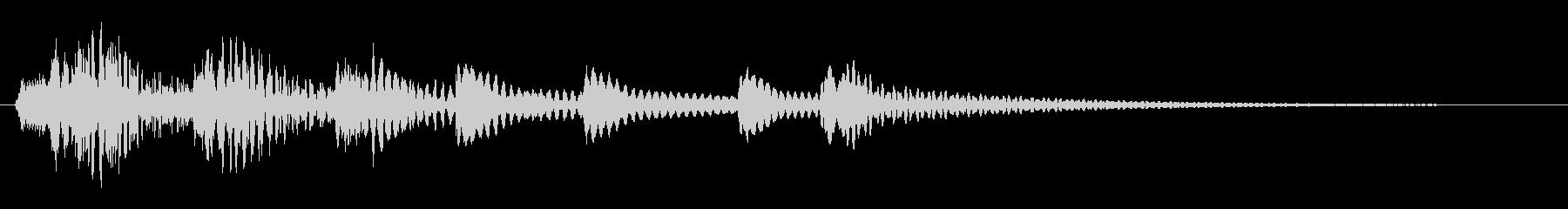 ピリピュルプルリン(コミカルシーン向き)の未再生の波形