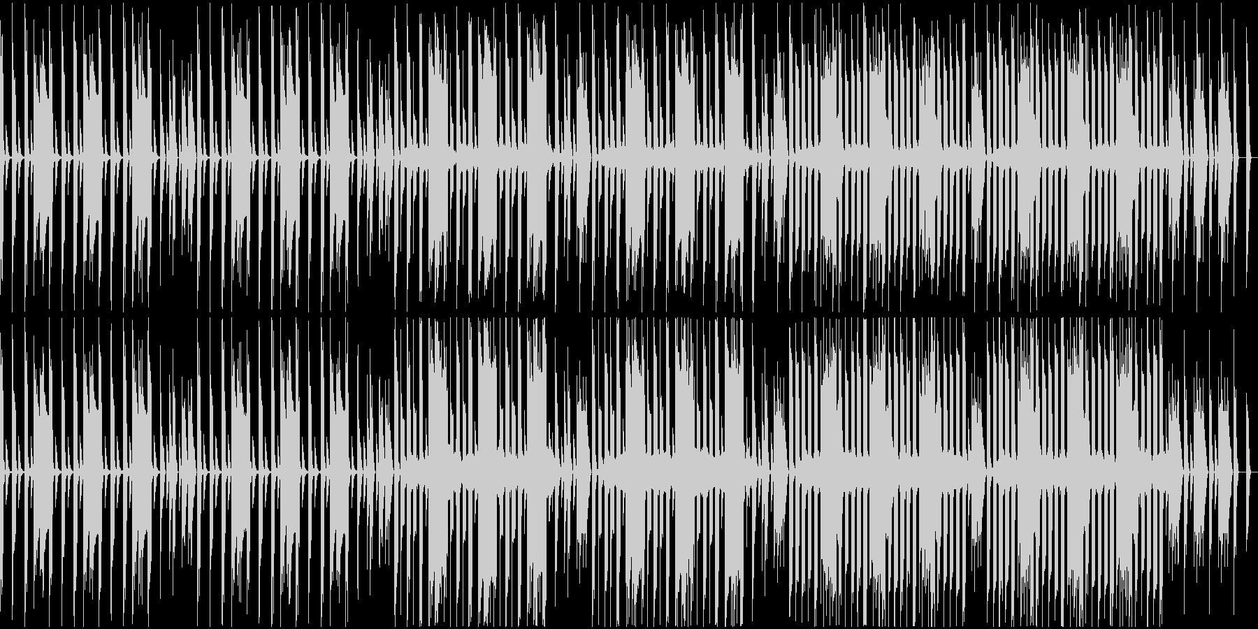 ループ仕様、8bit風、コミカルの未再生の波形