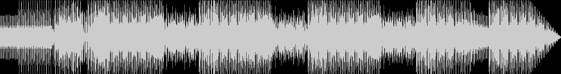 不気味でファンキーなエレクトロビートの未再生の波形