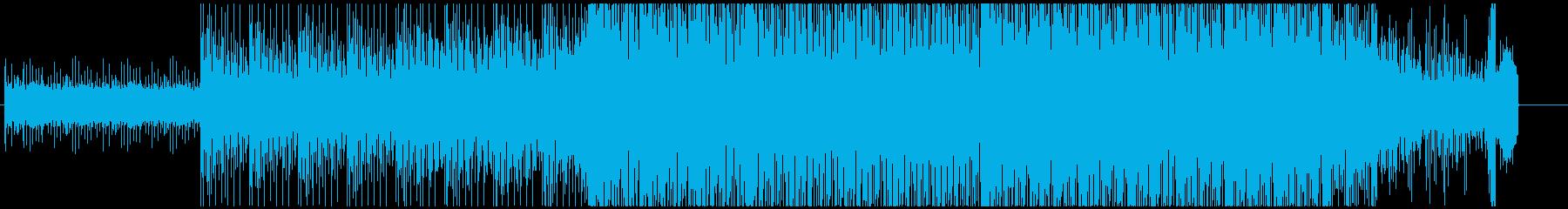 邦画・アウトレイジっぽい曲の再生済みの波形