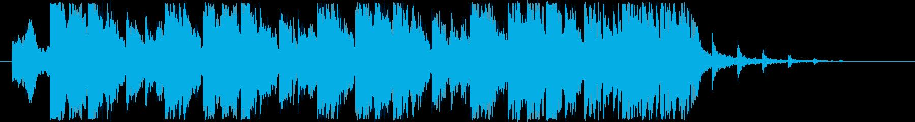 ジングル - ビバケーション!の再生済みの波形