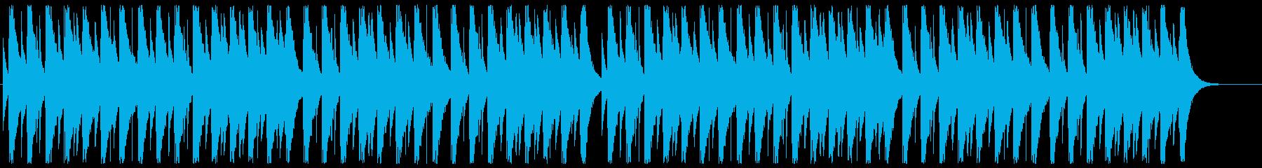 オルゴール・グリーンスリーブスの再生済みの波形