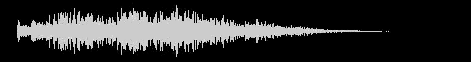 KANTアプリジングル201235の未再生の波形