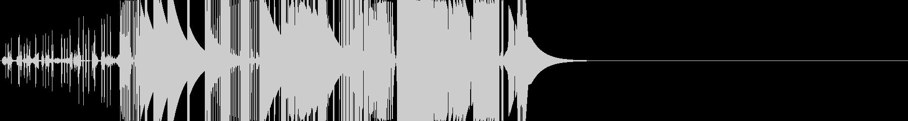 ブーストクラッカーバージョン1の未再生の波形