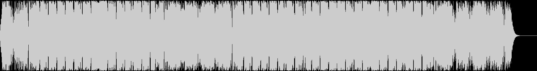 キャッチーなボイスとギターのEDMハウスの未再生の波形