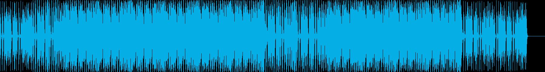 ポップ アクション 繰り返しの フ...の再生済みの波形