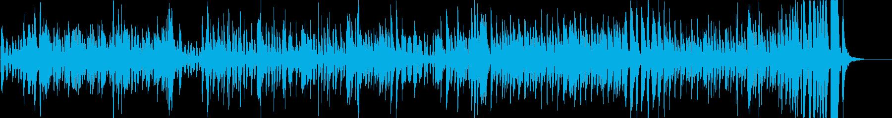 可愛らしいカートゥーンサウンドの再生済みの波形