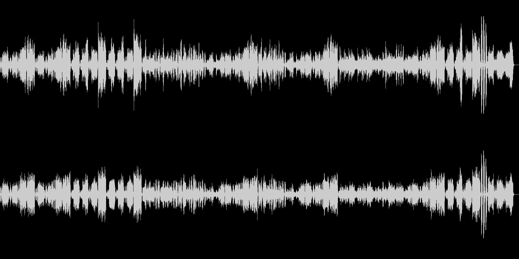 アイネクライネナハトムジーク 第2楽章の未再生の波形