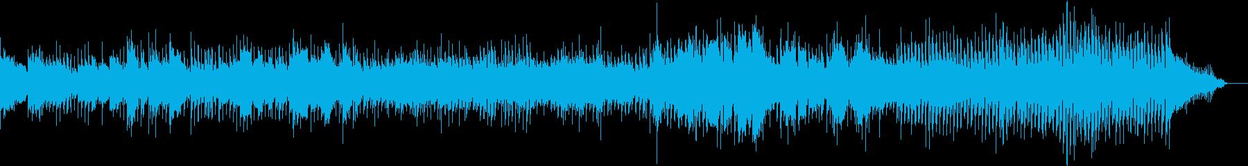 地下で何かが蠢いている様な曲の再生済みの波形