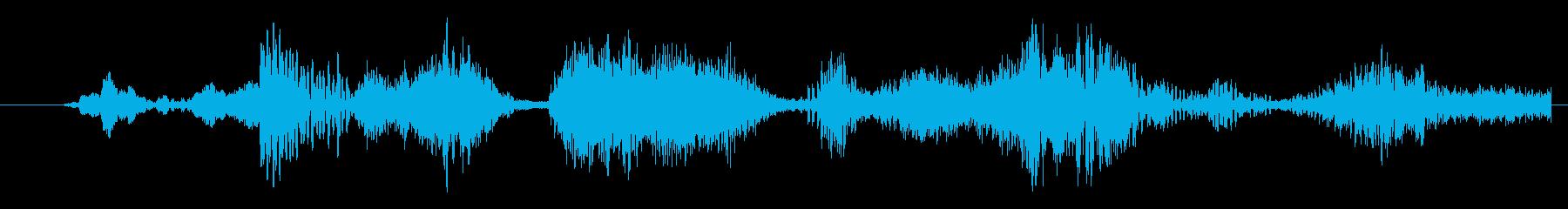 イメージ 言葉のノイズ01の再生済みの波形