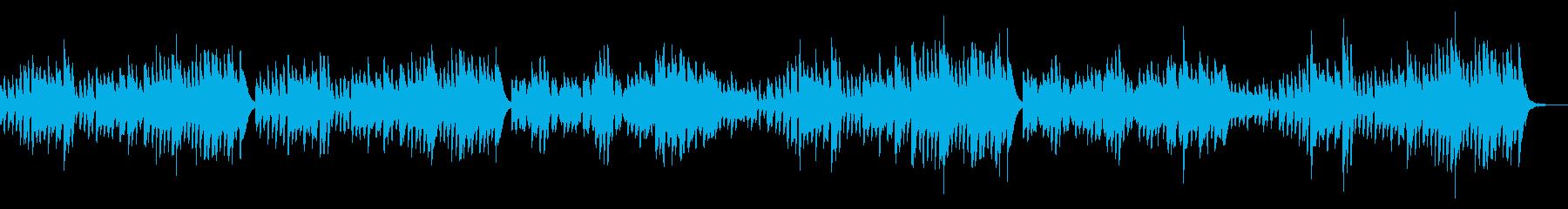 ピアノ練習曲/ブルグミュラーやさしい花の再生済みの波形