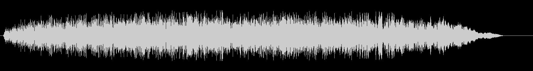 ギュルゥー(耳障りなノイズ)の未再生の波形