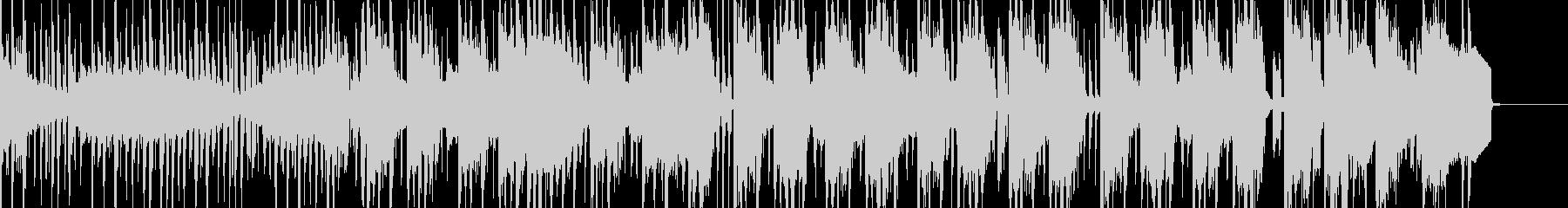 DJバトルのようなブレイクビーツの未再生の波形