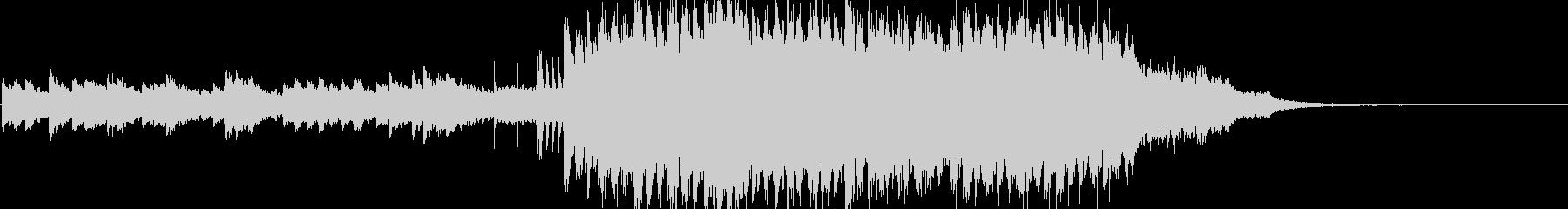 ピアノと鉄琴の転調ファンタジージングルの未再生の波形