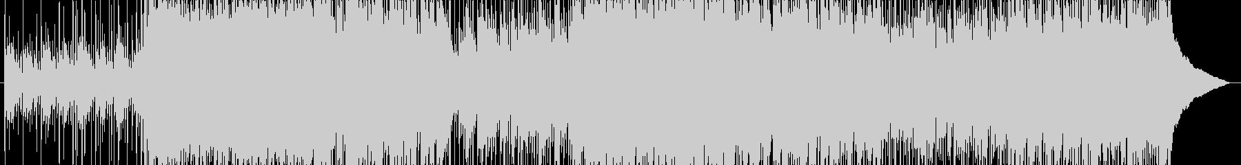 【ピアノ・ロック】映像オープニング向けの未再生の波形