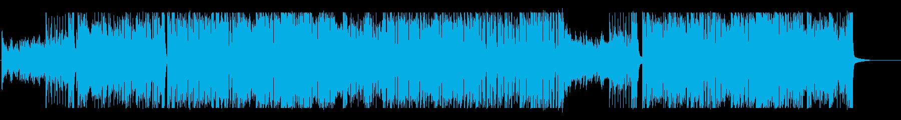 おしゃれで疾走感のあるピアノロックの再生済みの波形