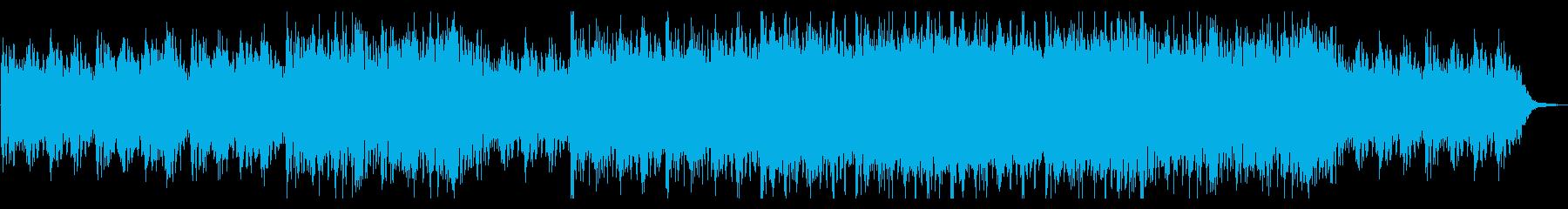 エンディング感がある壮大ピアノエピックの再生済みの波形