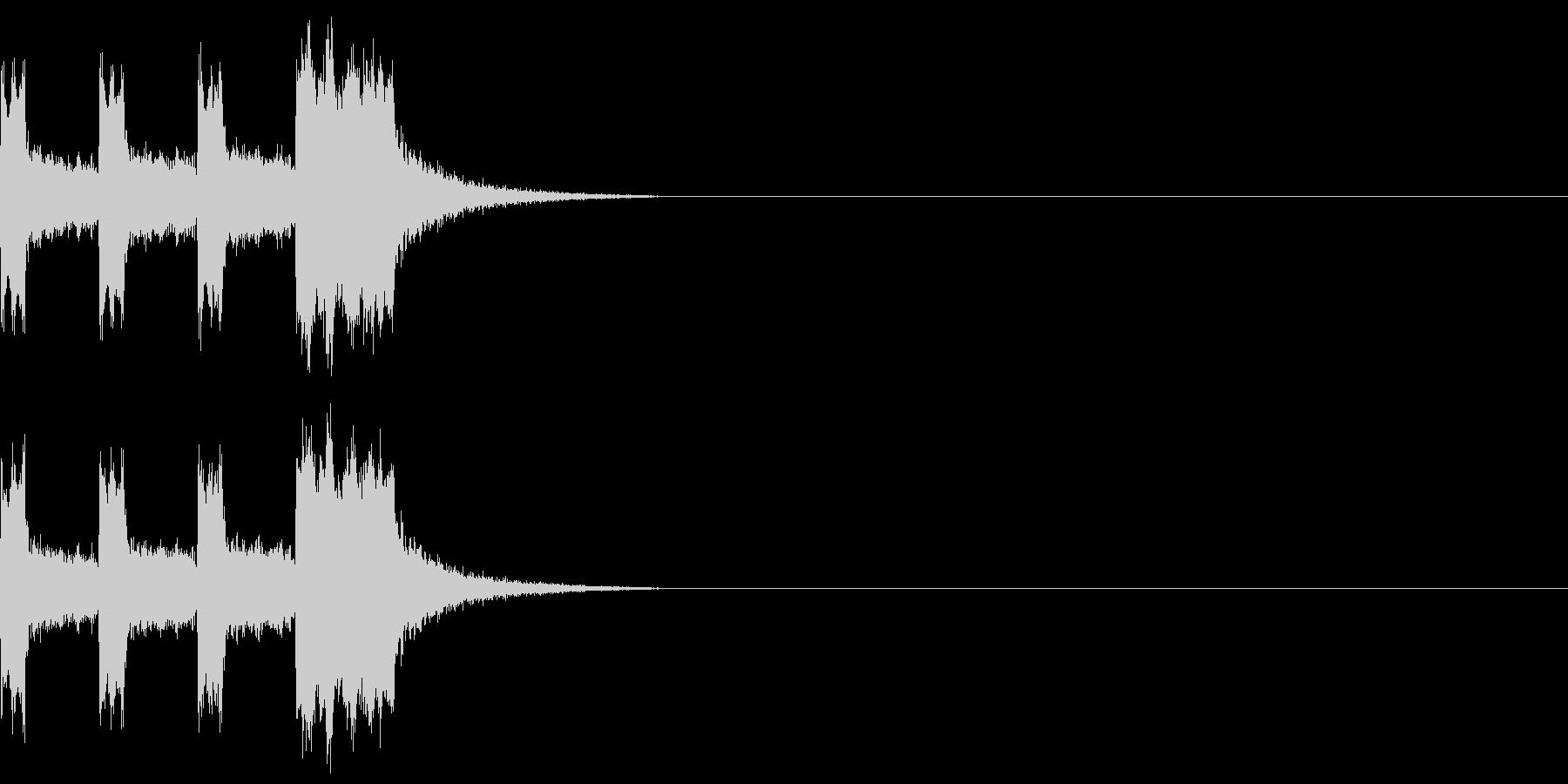カウントダウン&スタート!(PC風)の未再生の波形