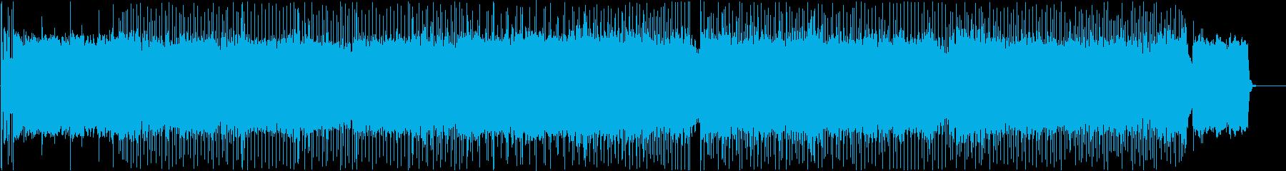 疾走感あるさわやかでポップなハードロックの再生済みの波形