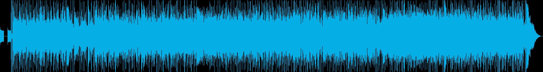 英詞UKテイスト壮大ヘヴィ・ロックの再生済みの波形