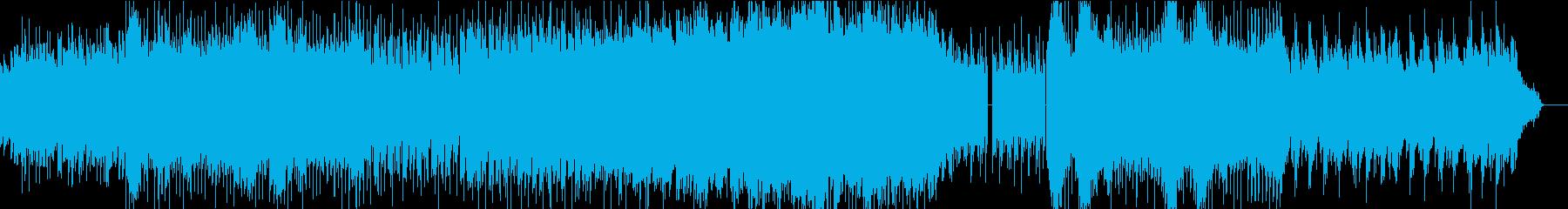 ノリノリメロディアス爽やかシンセポップの再生済みの波形