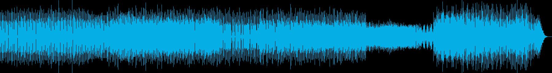 陽気でファニーなミニマルアシッドテクノの再生済みの波形