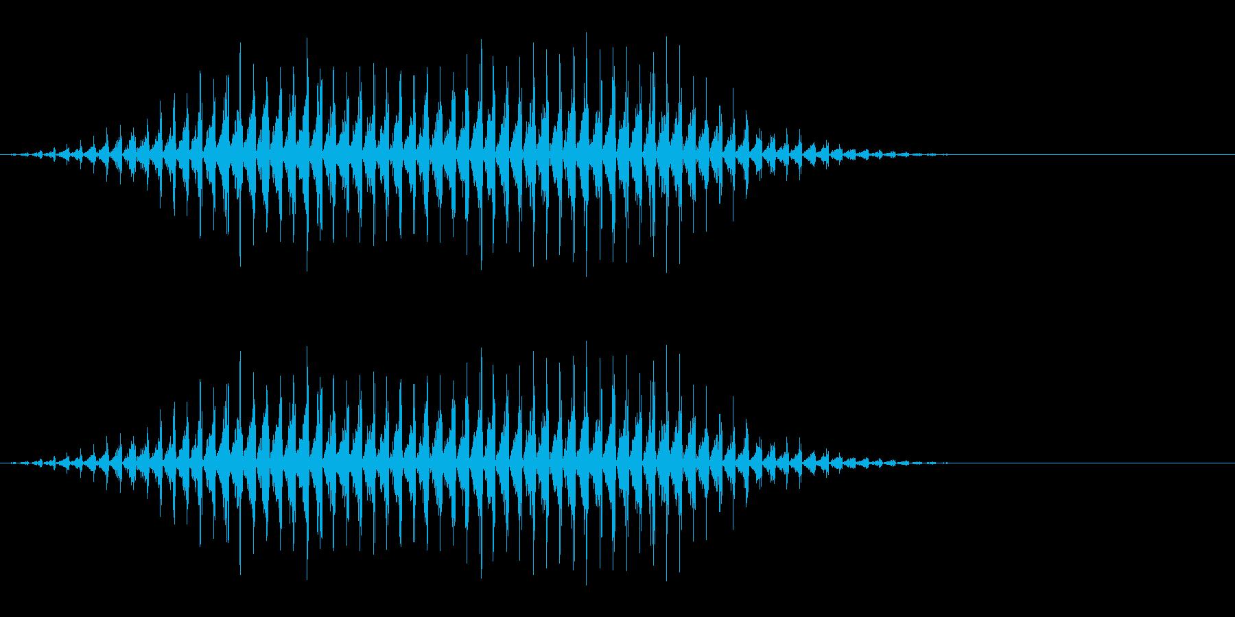 虫の羽音(ブーン/モンスター/飛ぶ)_1の再生済みの波形