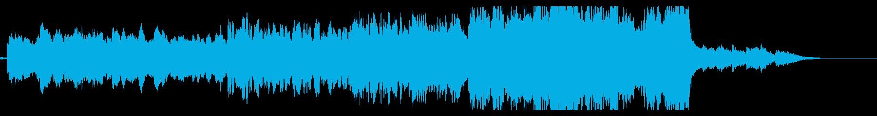 ホルン、フルート主体の復興イメージソングの再生済みの波形